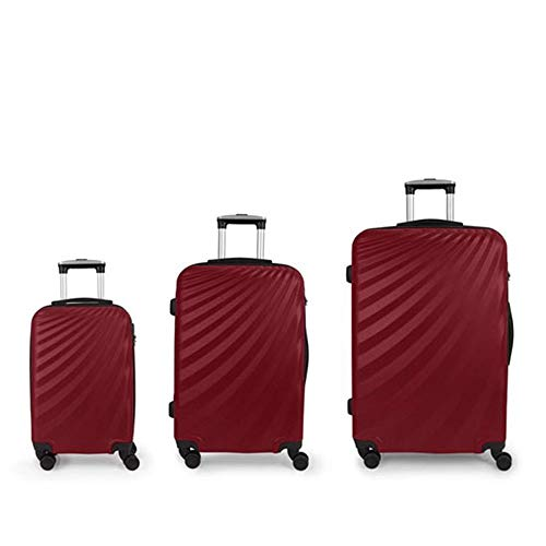 Set 3 Maletas C22-M-L Gabol Royal Rojo