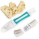 Breadsmart Lame - Outil de marquage de pâte à Pain - Jeu de 10 Lames en Acier Inoxydable - Mesureur de pâte des boulangers - Meilleurs Accessoires de Boulangerie