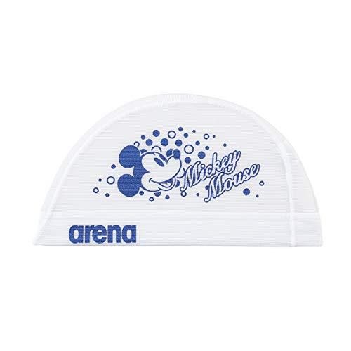 アリーナ (arena) スイミング用メッシュキャップ ディズニー パワーネット ホワイト Mサイズ DIS-0360