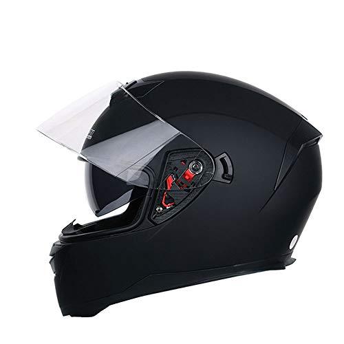 Cascos de Motocross para Hombres, Mujeres, Doble Lente, antivaho, Casco de Motocicleta de Cara Completa, Gorra de Moto de montaña al Aire Libre, Accesorios de Moto