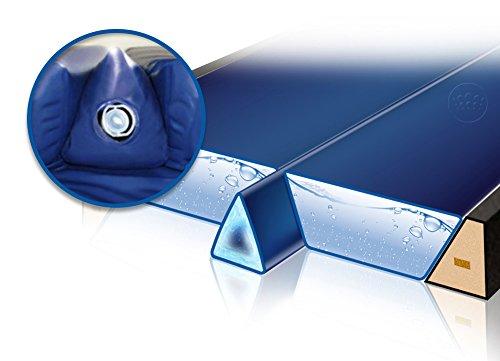 housse 20 x 60 x 320 cm Coussin en mousse /à m/émoire de forme U pour la grossesse en mousse gel Body Pillow graphite Traumreiter Visco XXL Coussin de positionnement lat/éral en gel