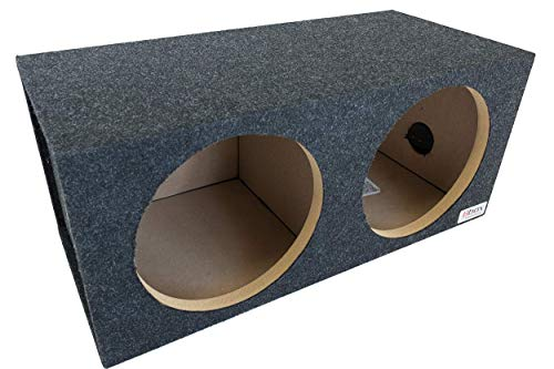BBox E10D Dual 10' Sealed Carpeted Subwoofer Enclosure
