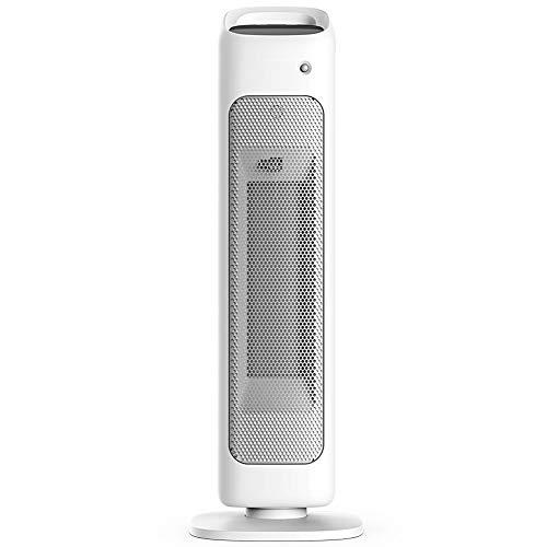 IRi Calefactor Portátil Eléctrico, Calefactor Vertical, Cerámica de PTC Calentador de Aire Caliente, con Viento Calor y Natural de Ventilador, con Pantalla Táctil LED, para Hogar y Oficina