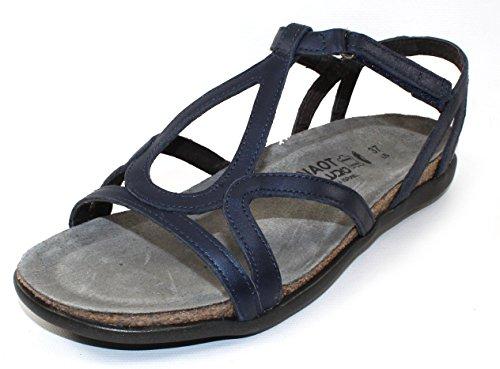 Naot Women's Dorith Sandal Polar Sea Leather 8 N US