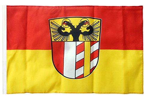 Flagge / Fahne Deutschland Schwaben + gratis Sticker, Flaggenfritze®