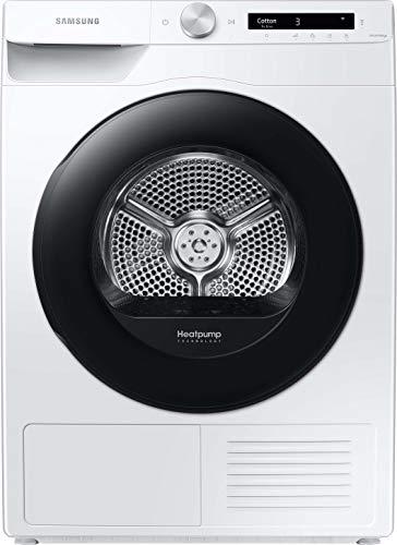 Samsung DV5000T DV8GT5220AW/S2 Wärmepumpentrockner 8 kg/A+++ / Simple Control mit WiFi und Auto Cycle Link/Digital Inverter Motor mit 10 Jahren Garantie/Knitterschutz und Komfort 2-in-1 Filter Weiß