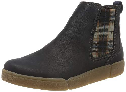 ARA Damen ROM 1214441 Hohe Sneaker, Blau (Blau 09), 41 EU
