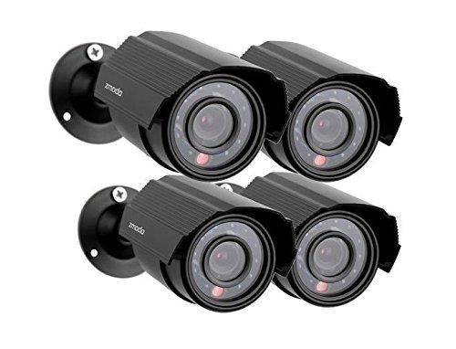 Zmodo 700TVL 4-Pack Indoor/Outdoor Analog Cameras ZMD-P4-YARAZ4ZN