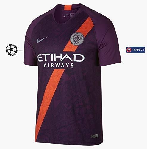 Manchester City F.C. Maillot pour Homme 2018-2019 Third UCL