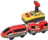 Wuyanse Children Thomas Traíz de Madera Tren magnético Toy Locomotor Electric Toy 3 Styles-C