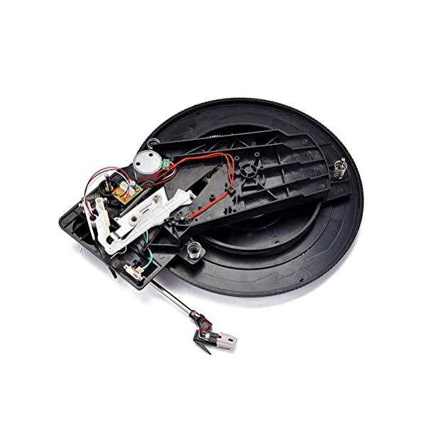 LIOOBO Tocadiscos LP de vinilo vintage giradiscos para accesorios de audio y video 28 cm