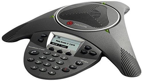 Polycom Soundstation IP 6000 SIP Based Conference Phone(Certified Refurbished)