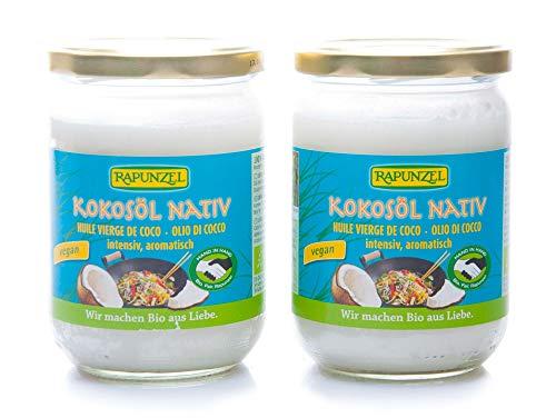 2 x Rapunzel Bio Kokosöl nativ HiH (2 x 400 g)