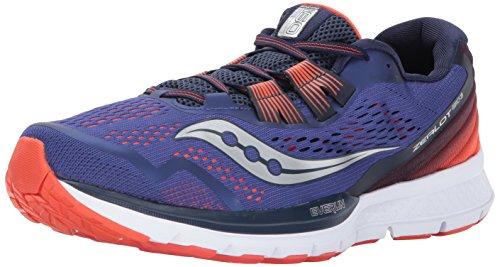 Saucony Men's Zealot Iso 3 Footwear Blue in Size 46.5
