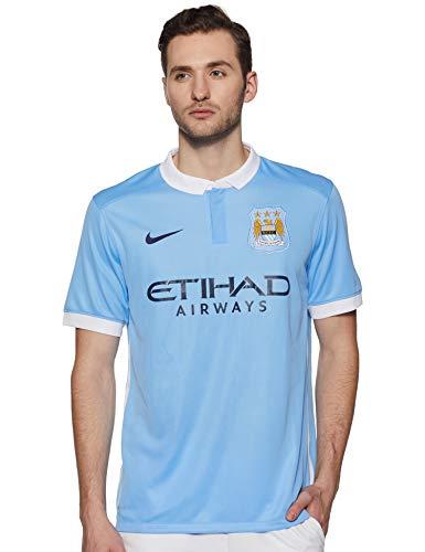 Nike 1o Herren Trikot Manchester City 2015/2016 XXL blau/weiß/schwarz (Field Blue/Football White/Obsidian)