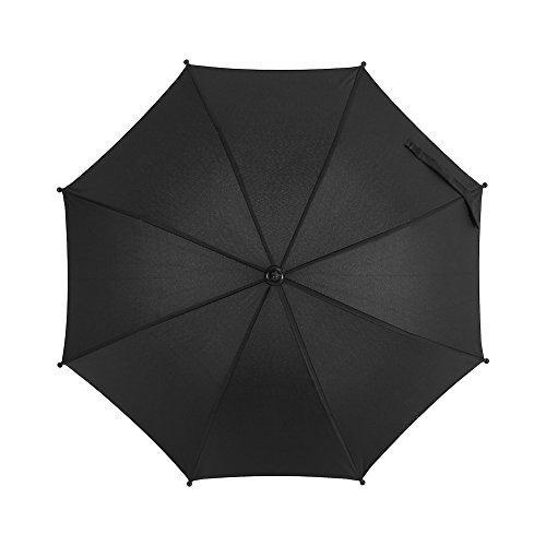 Demeras Paraguas para cochecito de bebé, fácil de instalar, gran área de bloqueo, flexible, ajustable, simplemente ajustado para cochecitos de bebé para sillas de playa