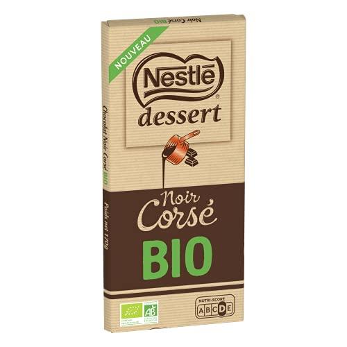 Nestlé Dessert - Chocolat Noir Corsé Bio - tablette de 170g