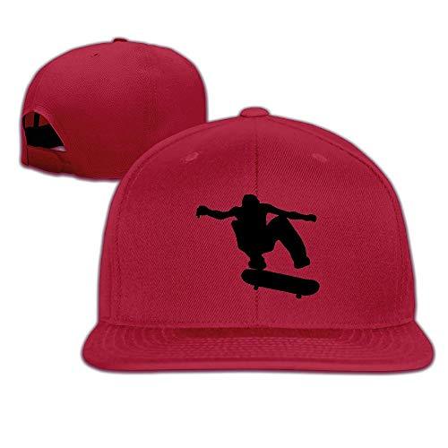 cvbnch Gorras de béisbol Hombre/Mujer,Unisex Skateboard Skater Adjustable Sunscreen Trucker Hat Sports Cap Sun Hat