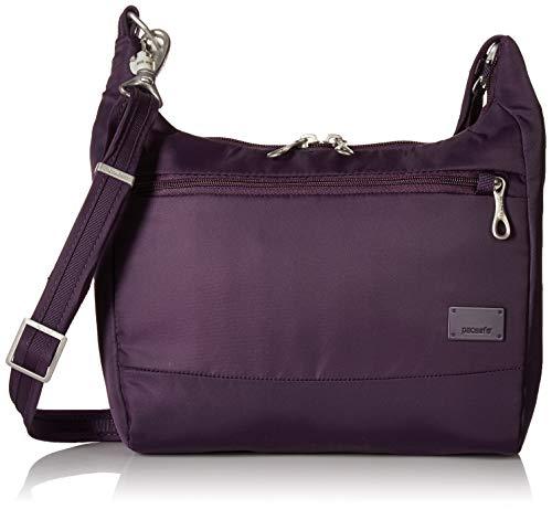 Pacsafe Women's Citysafe Cs100 Anti-theft Travel Handbag-Mulberry, One Size