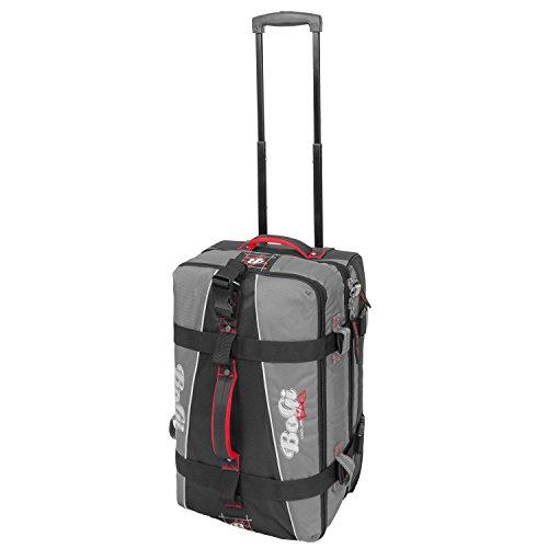 BoGi Bag BoGi Bag Koffer, 52 cm, 40 Liter, schwarz/grau