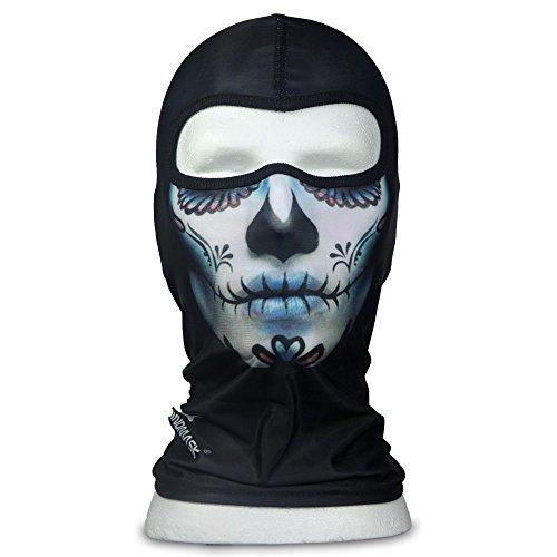 WINDMASK - Mexican Lady Skull - Sturmhaube Balaklava Skimaske