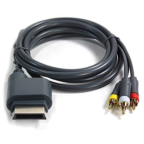 Matedepreso Audio Cable Alambre Duradero HD TV Controlador Componente Compatible Vídeo Ligero...