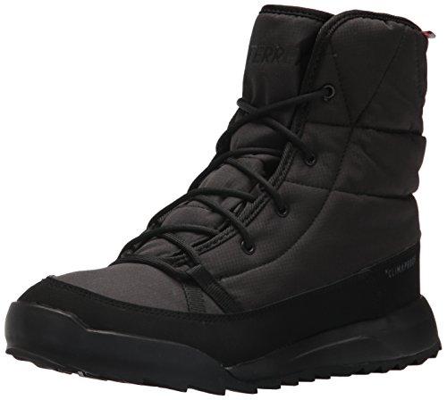 adidas outdoor Women's Terrex Choleah Padded CP Walking Shoe, Black/Chalk White/Grey Five, 7 M US