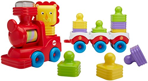 Fisher-Price DRG33 stapelplezier leeuwen-lok, multicolour
