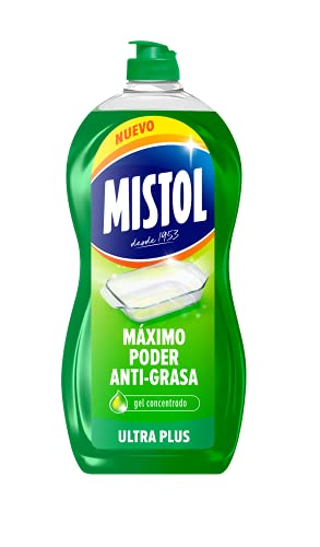 Mistol Detergente Ultra Plus Limpia Vajillas a Mano - 950 ml