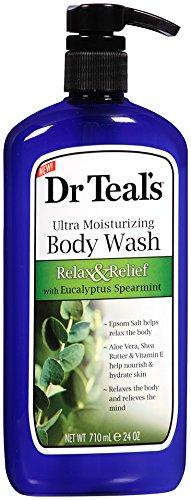 Dr. Teal's Ultra Moisturizing Body Wash, Eucalyptus Spearmint, 24...