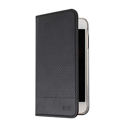 EMR-TeK EMF Protection Anti Radiation iPhone Case: iPhone 8 , iPhone 7, iPhone 6s and iPhone 6 RFID EMF Blocking Wallet Cell Phone Case (Black)