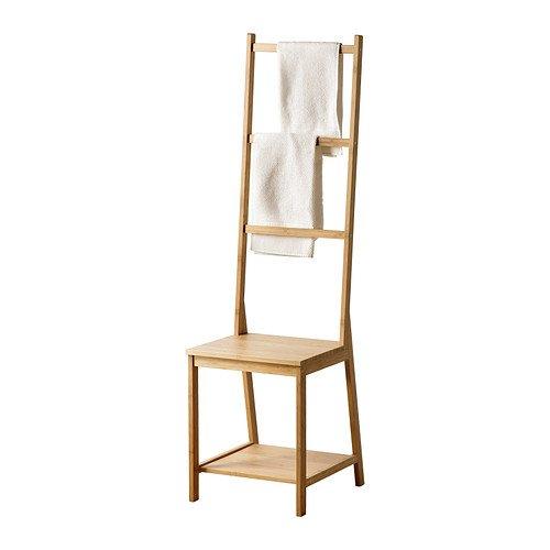 Ikea RAGRUND - Toallero silla, bambú