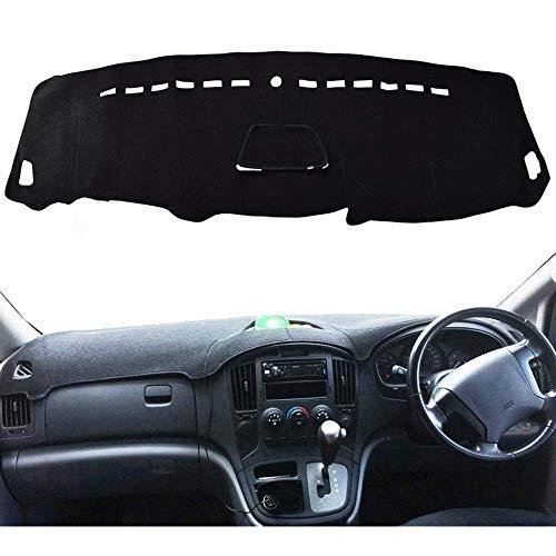 YIJIAREN - Protector de coche para Hyundai H1 H1 Viajes Merci Grande Starex Royale ILoad IMax H300 I800 2008-2019, salpicadero del coche Relieve a prueba de luz