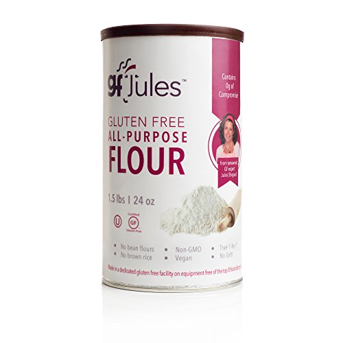 gfJules All Purpose Gluten Free Flour - Voted #1 by GF Consumers 1.5 lb Can, Pack of 1