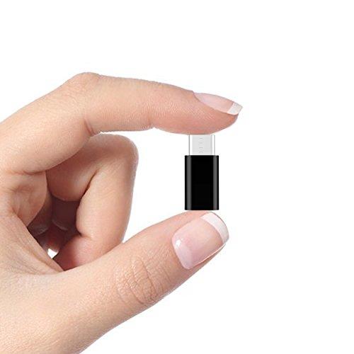 Ailun 5 Stück USB C Adapter auf Micro USB, USB Typ C Adapter Konverter 56K Widerstand für Samsung Galaxy S10 S9 S8 Plus/Note 10 9 8/A3 A5 2017, Huawei P9/P10, LG G5 G6 und weitere Typ C Geräte