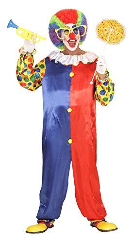 Mens Funny Circus - Disfraz de Payaso Fancy Dress