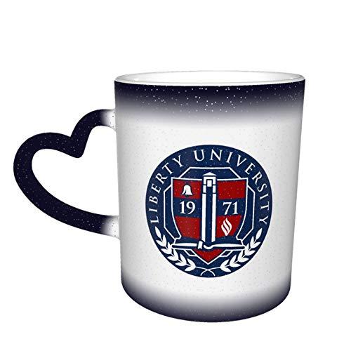 Shenandoah-University Logo Mug Color Changing Mug In The Sky Gifts For Him/ Her Ceramic Heat Sensitive Color Changing Cup