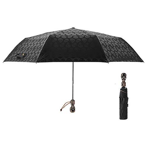 KANKOO Paraguas Grandes Paraguas Antiviento Paraguas de Las señoras Paraguas a Prueba de Viento Hombre Paraguas Paraguas de Sol Pequeño Paraguas