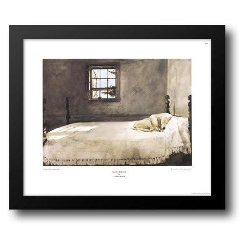 Amazon.com: Master Bedroom, c.1965 23x20 Framed Art Print by ...