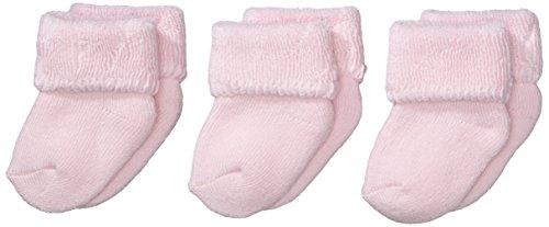 Sterntaler Erstlings 3-er Pack Socken Pack, Alter: ab 0 Monate, Größe: Neugeborene (HerstellerGröße 0), Rosa