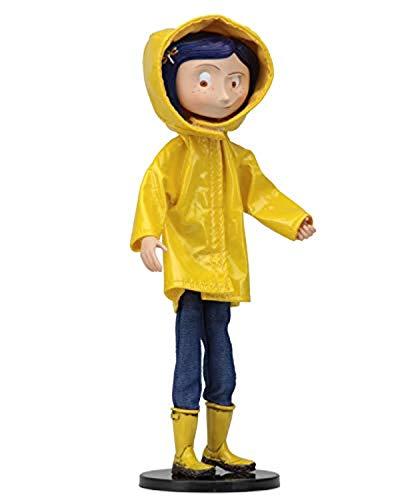Coraline in Rain Coat Bendy Fashion Doll 18cm