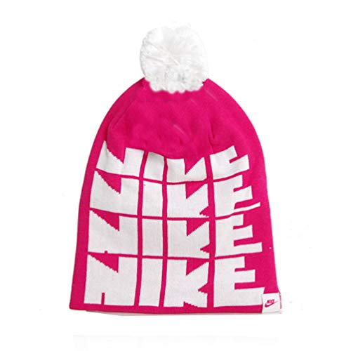 Nike Futura Pom Beanie Yth - Berretto - Rose - One Size, Unisex