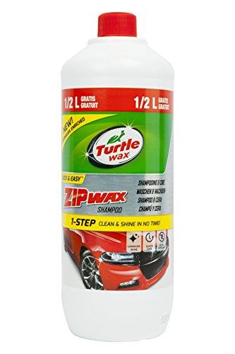 Carpoint 1830618 Shampooing Zip Wax avec Cire, 1.5 L, 1.5 litres
