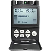 PowerTENS Compact High Power Dual Channel Digital TENS Machine by Natures Gate TENS TN-20-5 Modes - Battery Powered for Your Convenience!
