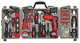 Apollo Tools DT0738 161 Piece Complete Household Tool Kit with 4.8...