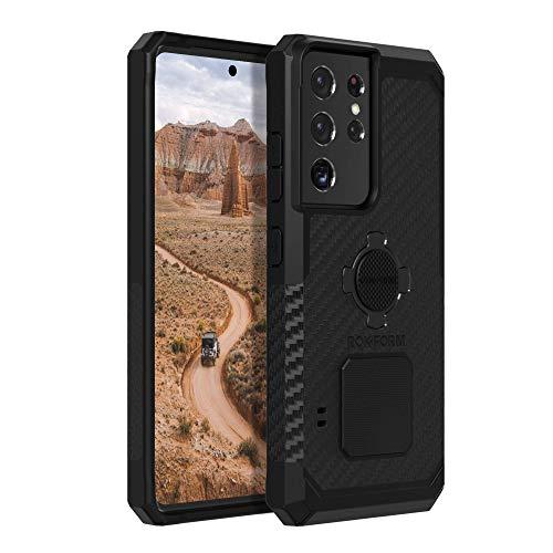 Rokform - Custodia per Galaxy S21 Ultra 5G con chiusura a spirale, resistente e resistente, per Samsung S21 Ultra 5G, colore: Nero