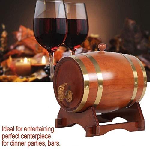 Eiken vaten 3L/5L/10L/15L, rode wijn eiken vat Whiskey vaten voor het opslaan van bier Whiskey Rum hete saus, enz. (geschikt voor het versieren van staven)
