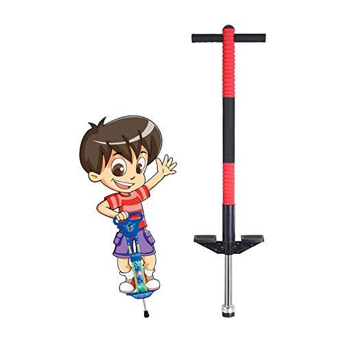 GYF Palo de rebote de 20 a 35 kg de juguete para niños y niñas de 5 a 10 años de edad para la forma de pogo stick jumper niños (color: rojo)