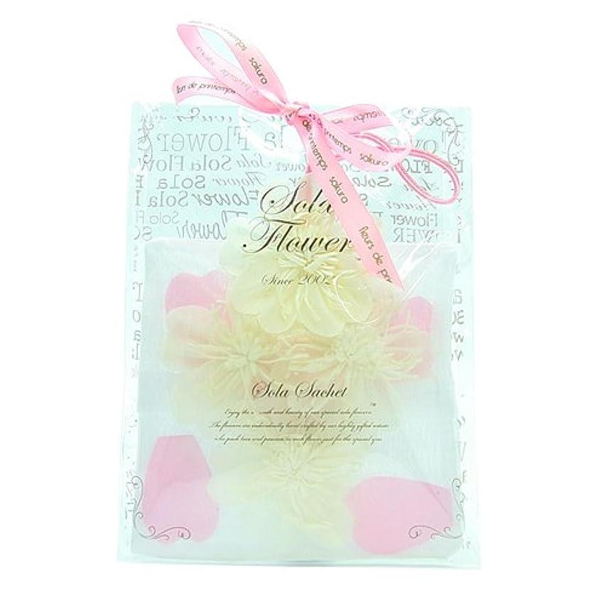 値するカテナ菊fleurs de printemps Sola Flower ソラフラワー サシェ 桜 サクラ SOMEIYOSHINO ソメイヨシノ