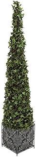 Deco 79 77393 PVC Plastic Ivy Topiary Metal Plnt